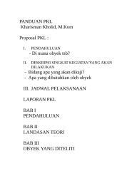 PANDUAN PKL.doc