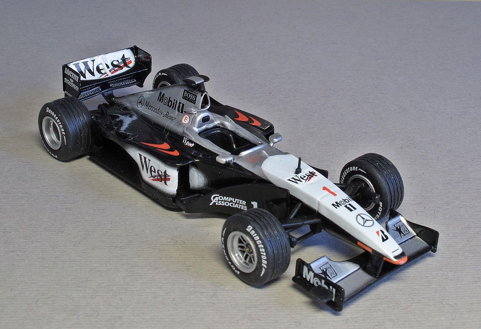 Formula 1 №12 - McLaren MP4/14 Мика Хаккинен (1999)