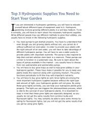 Top 3 Hydroponic Supplies You Need to Start Your Garden.pdf