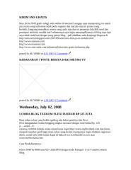 KIRIM SMS GRATIS.doc