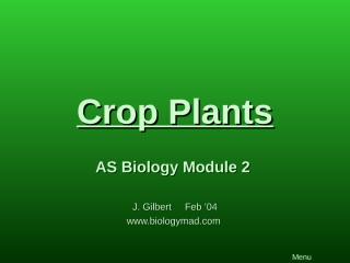 Crop Plants.pps