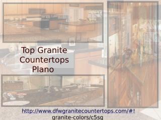 Top Granite Countertops Plano.pptx