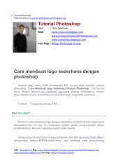 Cara membuat logo sederhana dengan photoshop.pdf