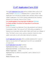 CLAT Application Form 2016.pdf