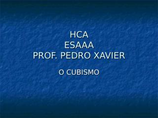 (2) cubismo.ppt