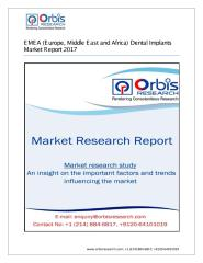 2017 EMEA (Europe, Middle East and Africa) Dental Implants Market Size, Share and Forecast.pdf
