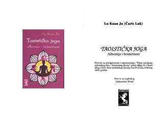 Lu Kuan Ju - Taoistička Joga - Alhemija i Besmrtnost.pdf