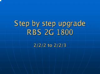 Upgrade DRU RBS 2G.pdf