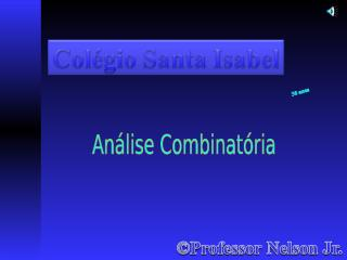 analise combinatoria - 3 - 2015.pps