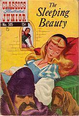 Classics Illustrated Junior #505 Sleeping beauty.cbr