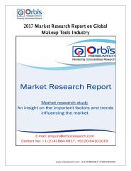 2017 Market Research Report on Global Makeup Tools Industry.pdf