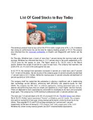 List Of Good Stocks to Buy Today.pdf