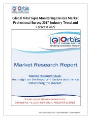 Global Vital Signs Monitoring Devices Market Professional Survey 2017 Industry Trend and Forecast 2022.pdf