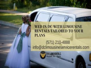 Wed in DC with Limousine Rentals Tailored to Your Plans.pdf