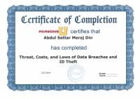 Diploma in Threat, Costs and Laws of Data Breaches and ID Theft.pdf
