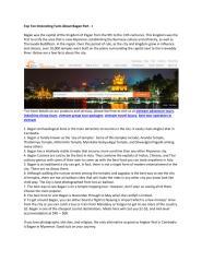 Top Ten Interesting Facts About Bagan Part - I.pdf