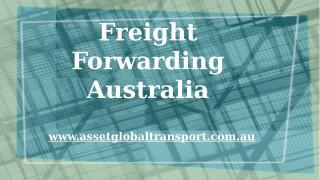 Freight Forwarding Australia.pptx