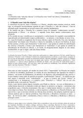 Filosofia e Ciência.doc