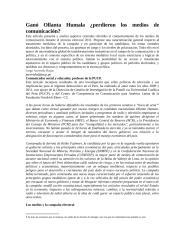 GANÓ OLLANTA HUMALA PERDIERON LOS MEDIOS DE COMUNICACIÓN.docx